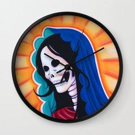 Dia de los Muertos - La Dolorosa Wall Clock