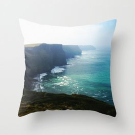 The Cliffs of Moher 2 Throw Pillow