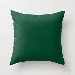 UK British Racing Green Motor Racing Throw Pillow