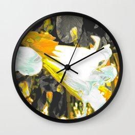 """""""Fiori della Luna"""" by ICA PAVON Wall Clock"""