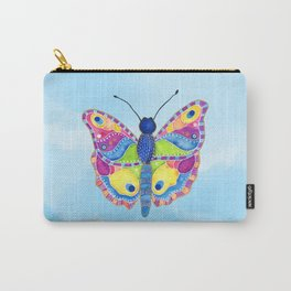 Butterfly II on a Summer Day Carry-All Pouch