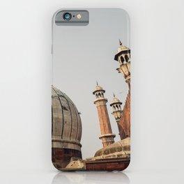 Jama Masjid in Delhi iPhone Case