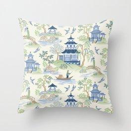 Chinoiserie Throw Pillow