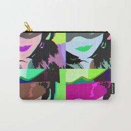 Girls Helmet Pop art Carry-All Pouch