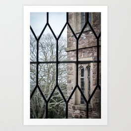 Windows Follow Trees Art Print