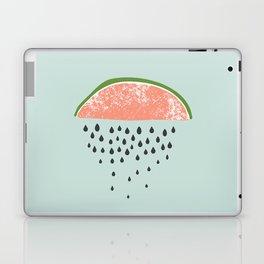 Watermelon raining seeds. Laptop & iPad Skin