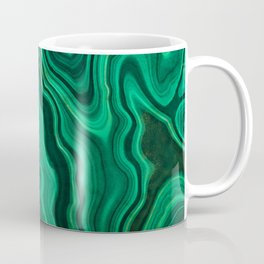 Emerald Marble Coffee Mug