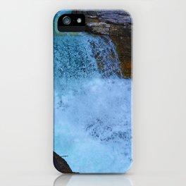 Beauty Creek & Stanley Falls in Jasper National Park, Canada iPhone Case