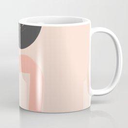 Peach and Blue Dreams Coffee Mug
