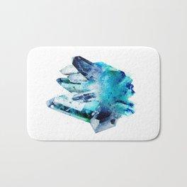 Watercolor Gemstone Bath Mat
