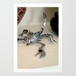 Scorpio Obsession Art Print