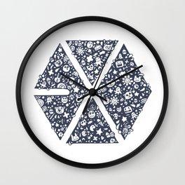 Exo Toon Wall Clock