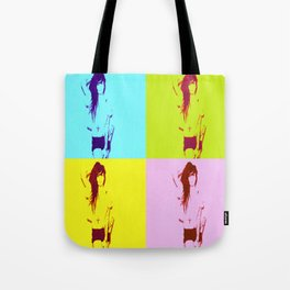 Synth-Pop Art Tote Bag