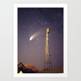 Observation Post Art Print