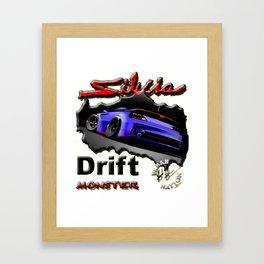 Drift Sport Car Framed Art Print