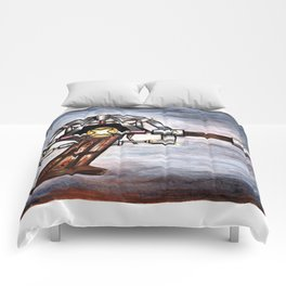 "Back to the Future (Doc Brown) Inspired Ray Gun Illustration 11 x 14"" Art-Print Gifts Comforters"