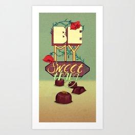 Sweet Thang! Art Print