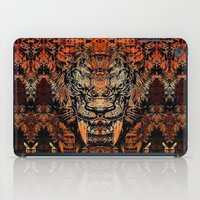 tooth iPad Cases featuring Saber Tooth by Zandonai