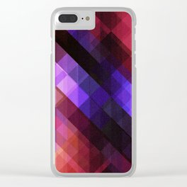 Pattern 11 Clear iPhone Case