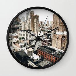 Midtown NYC Wall Clock