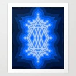 Lapus Lazuli Art Print