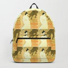 """Henri de Toulouse-Lautrec """"Théatre Antoine, la Gitane de Richepin"""" Backpack"""