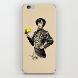Sherlock - Not Sure if the Lemon is in Play?! iPhone Skin