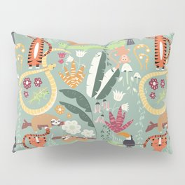 Rain forest animals 001 Pillow Sham