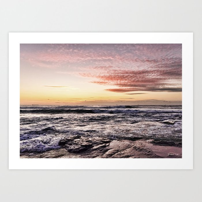 When the light is just right  Art Print