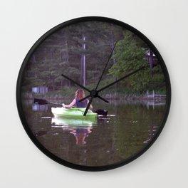 Kayak Wall Clock
