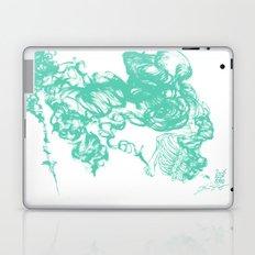 teal hair Laptop & iPad Skin