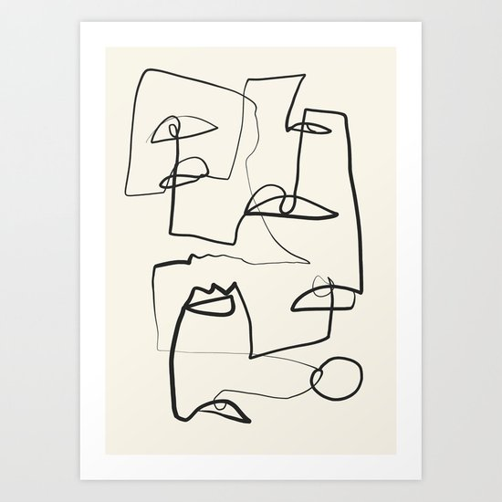 Abstract line art 12 by thindesign