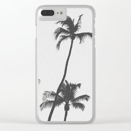 PALM TREES XIX / Hawaii Clear iPhone Case