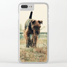 On the Prowl Clear iPhone Case