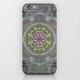 Cosmic Eye of Inner Vision towards the Human Heart iPhone Case