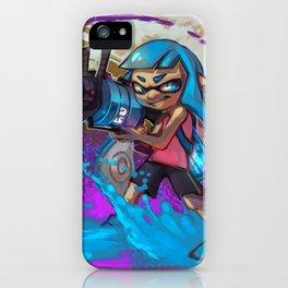 Splatoon Inkling iPhone Case