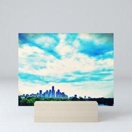 Austin in Blue Repose Mini Art Print