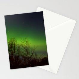 Arctic Lights Stationery Cards