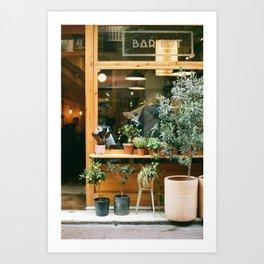 Tapas Bar in the Casa Gracia Neighborhood, Barcelona Art Print