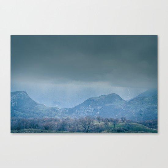 Time Horizon Canvas Print