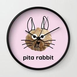 Pita Rabbit Wall Clock