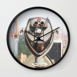 Rockefeller view | travel photography view New York architecture Wall Clock