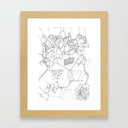 Gaf - Freak5 Framed Art Print
