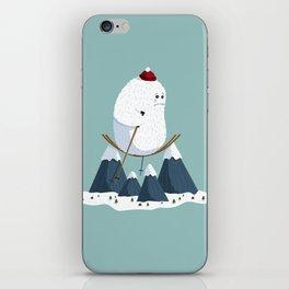 No slope, no hope iPhone Skin
