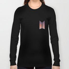BTS LOGO ORANGE SKY Long Sleeve T-shirt
