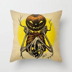 Autumn People 7 Throw Pillow