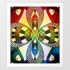 Ubiquitous Bird Collection11 Art Print