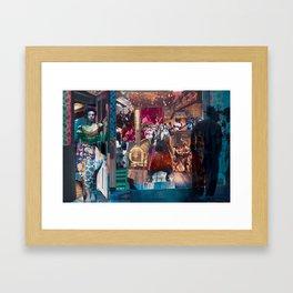Big Barbara's Juke Jo'nt Framed Art Print