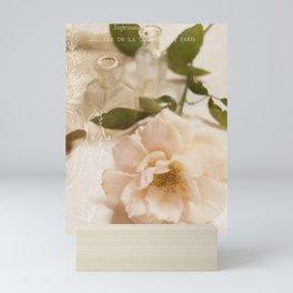 Oui Pink Rose Mini Art Print