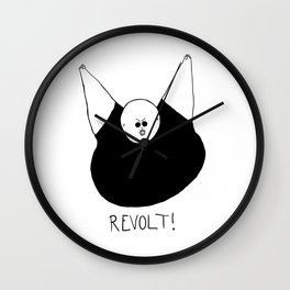 Revolt Two Wall Clock
